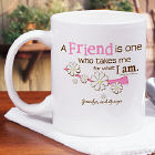 Personalized Friendship Coffee Mug