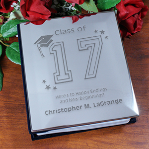 Personalized Graduation Silver Album | Graduation Gifts