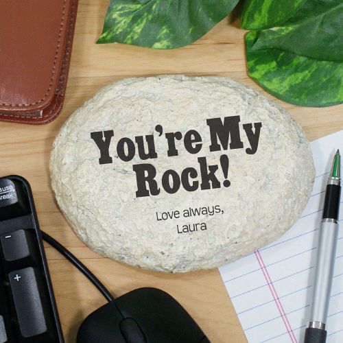 Engraved My Rock Garden Stone L592014S