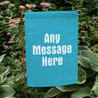 You Name It Personalized Garden Flag
