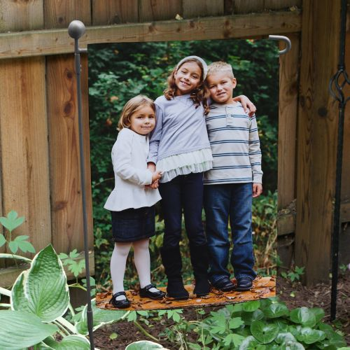 Picture Perfect Photo Garden Flag | New Home Gifts
