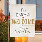 Live, Laugh, Love Personalized Garden Flag 83020532