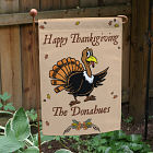 Happy Thanksgiving Garden Flag