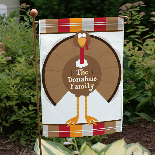 Welcome Turkey Personalized Garden Flag 83030682