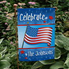 July 4th Celebration Personalized Garden Flag 83033392