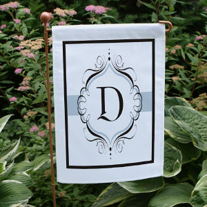 Monogram Personalized Garden Flag