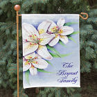 Personalized Easter Lily Welcome Garden Flag
