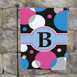 Personalized Monogram Garden Flag