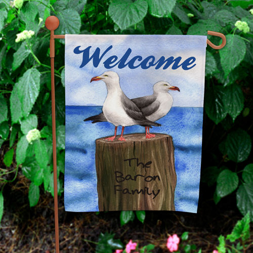 Personalized Summer Garden Flag 83055952