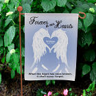 Personalized Forever In Our Hearts Garden Flag