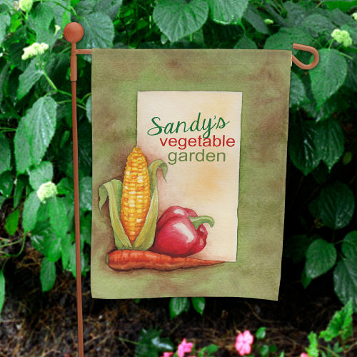 Personalized Vegetable Garden Flag 83059752