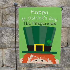 Personalized St. Patrick's Day Garden Flag 83062202