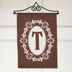Personalized Family Initial Garden Flag 83075092