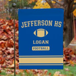 Personalized High School Sport Pride Garden Flag 83075462