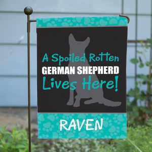 Personalized Dog Breed Garden Flag