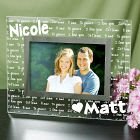 I Love You Personalized Glass Picture Frame G911541