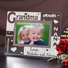 Engraved Grandma Glass Frame