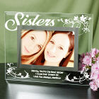Sisters Personalized Glass Picture Frame G929191