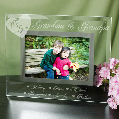 Engraved We Love Picture Frame | Engraved Picture Frames