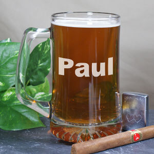 Personalized Any Name Glass Mug