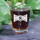 Engraved Groom Shot Glass