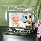 In Our Hearts Forever Glass Picture Frame G929171