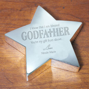 Personalized Godfather Keepsake | Customized Godfather Gifts