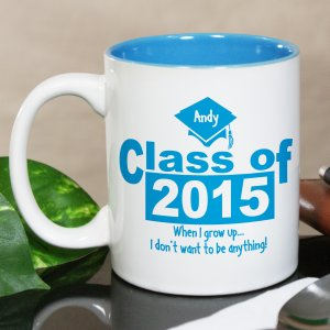When I Grow Up Graduation Coffee Mug