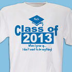 When I Grow Up Graduation T-shirt