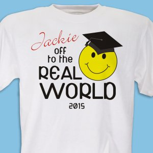 Off To The Real World T-Shirt