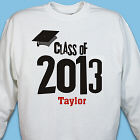 Graduation Cap Class Of Personalized Graduation Sweatshirt