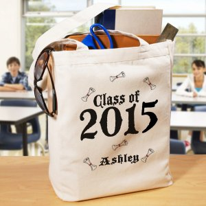 Graduation Personalized Canvas Tote Bag
