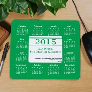 Personalized Executive Quotation Calendar Mouse Pad