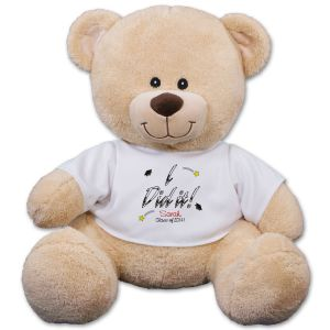 Personalized I Did It! Graduation Teddy Bear