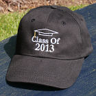 Embroidered Graduation Hat 858846BK