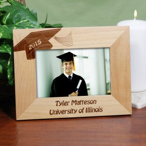 Graduation Engraved Frame