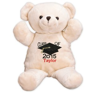 Embroidered Graduation Bear