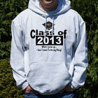 Personalized When I Grow Up Graduation Hooded Sweatshirt
