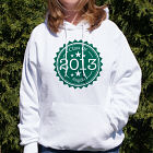 Personalized Graduation Hooded Sweatshirt