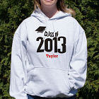 Personalized Graduation Cap Class Of Hooded Sweatshirt