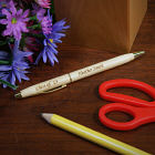 Engraved Class Of Wood Ballpoint Pen
