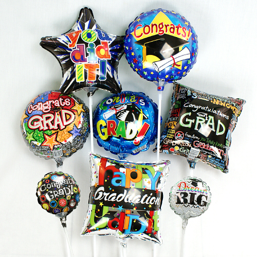 Mini Graduation Balloons | 2018 Graduation Gifts