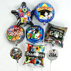 Mini Graduation Balloons | 2019 Graduation Gifts