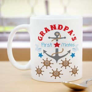 First Mates Mug | Custom Coffee Mug