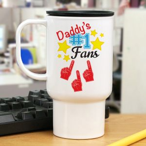 Personalized Number One Fan Mug