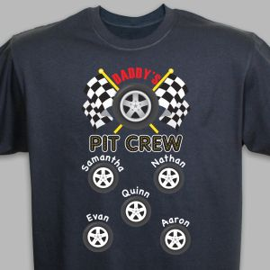 Custom Printed Pit Crew T-Shirt