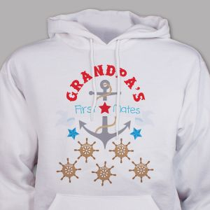 First Mates Hooded Sweatshirt