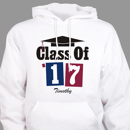 Personalized Graduation Hooded Sweatshirt H51701X