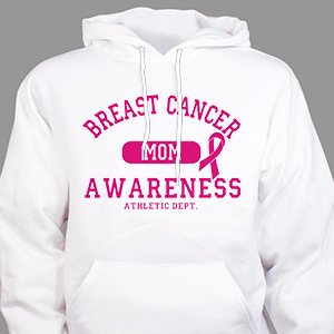 Breast Cancer Awareness Hooded Sweatshirt H57877X