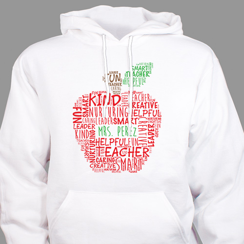 Teacher Hoodie | Personalized Teacher Gifts